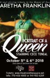 Portrait of a Queen by CeCe Teneal:Tribute to the Queen of Soul… Aretha Franklin